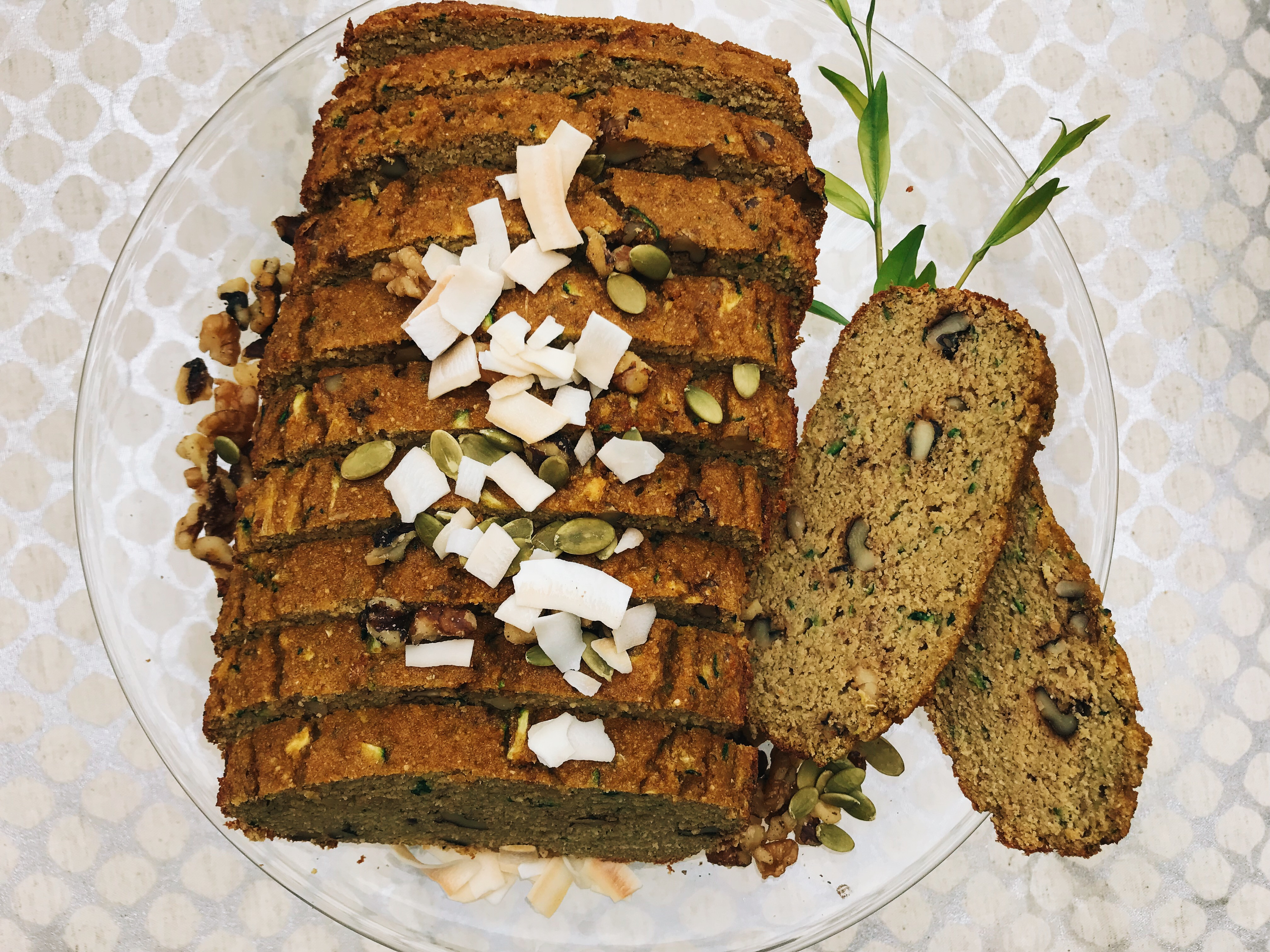 Keto Zucchini Bread  Zucchini Coconut Keto Bread