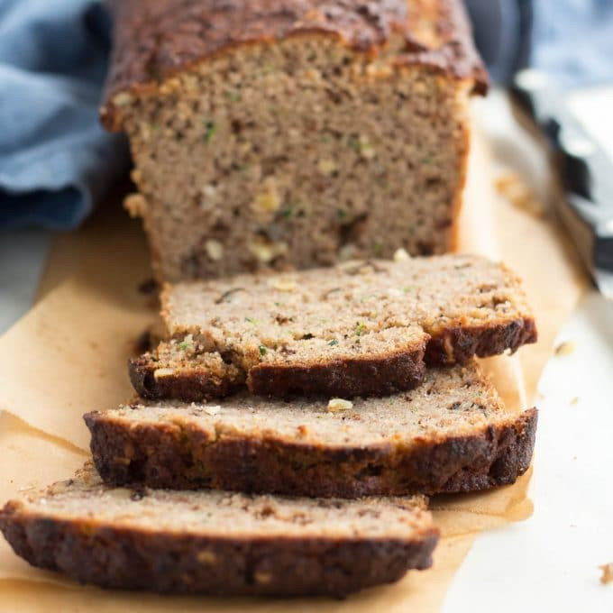 Keto Zucchini Bread  Low Carb Zucchini Bread coconut flour