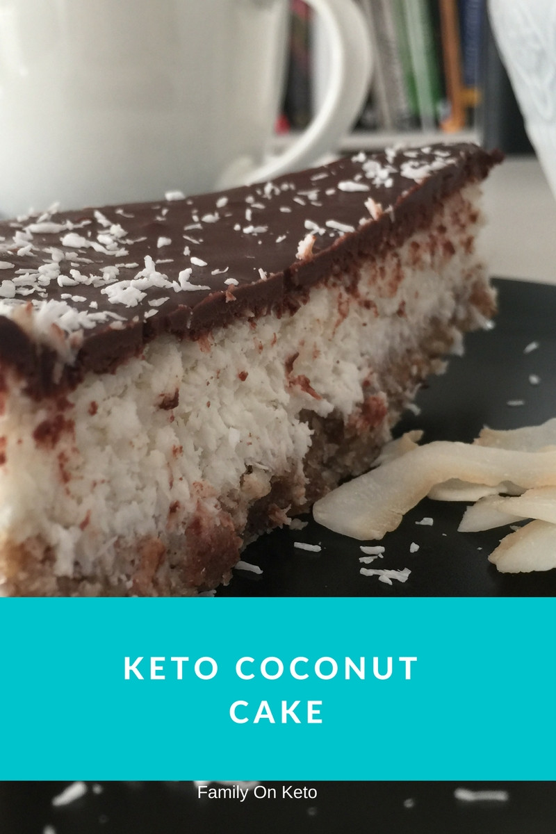 Ketogenic Diet Desserts  KETO COCONUT CAKE YOUR FAMILY WILL LOVE NO BAKE Family