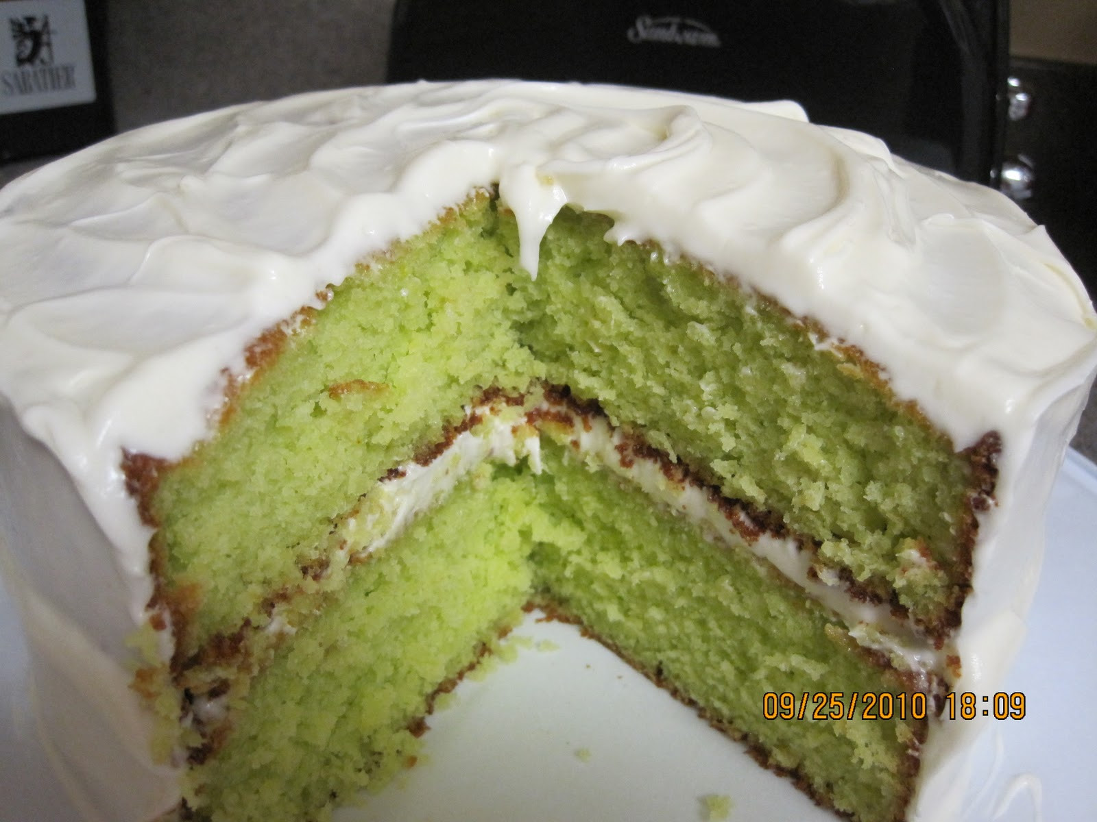 Key Lime Cake Recipe  The Passionate Cook September 2010