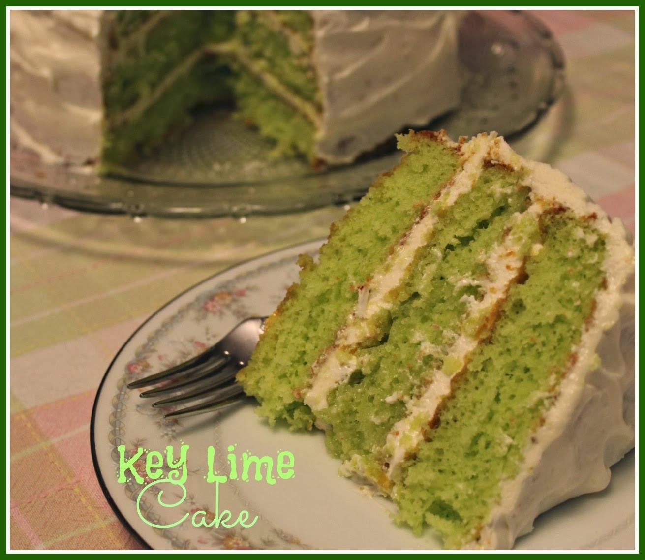 Key Lime Cake Recipe  Sweet Tea and Cornbread Key Lime Cake