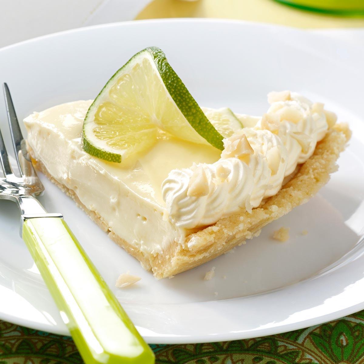 Key Lime Pie Recipe  Macadamia Key Lime Pie Recipe