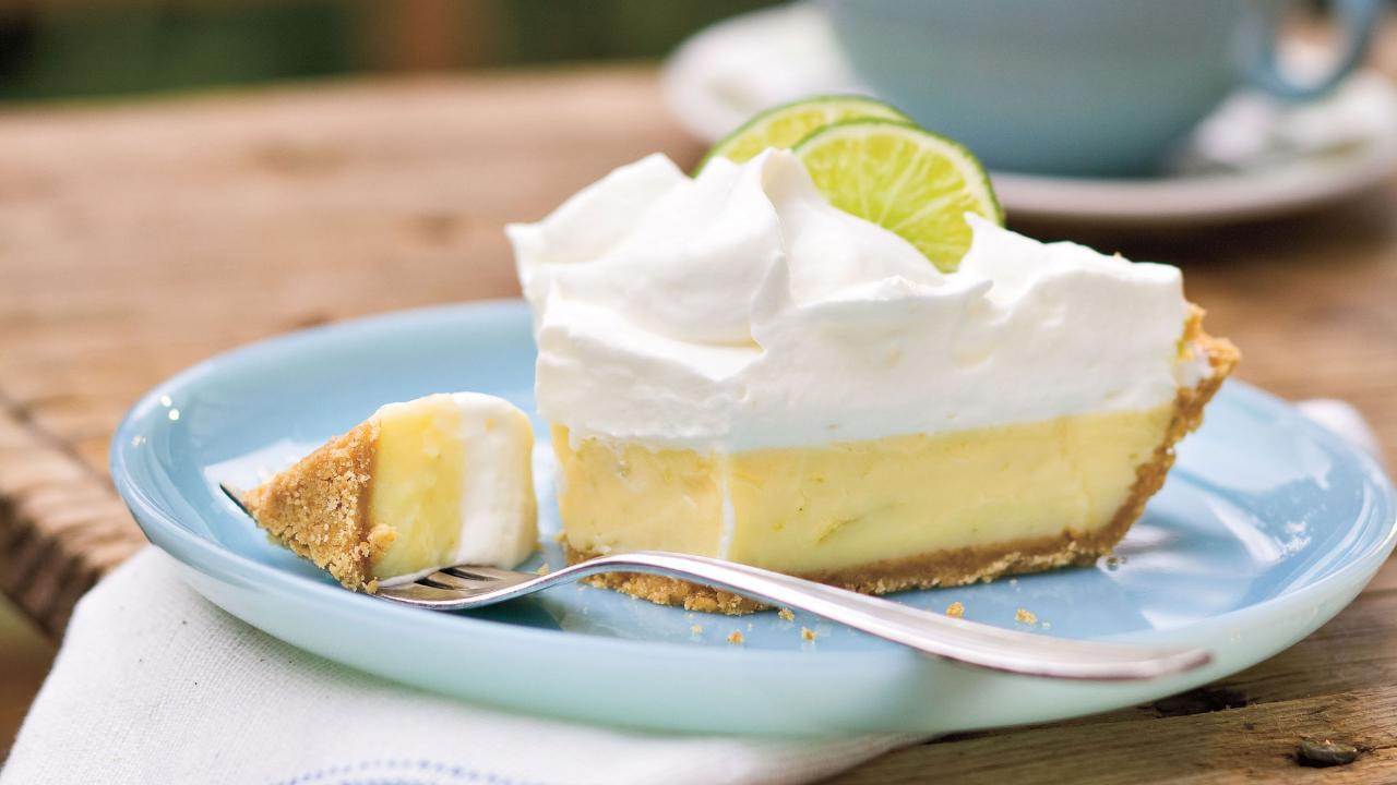 Key Lime Pie Recipe  What a Floridian Never Puts in Key Lime Pie Southern Living