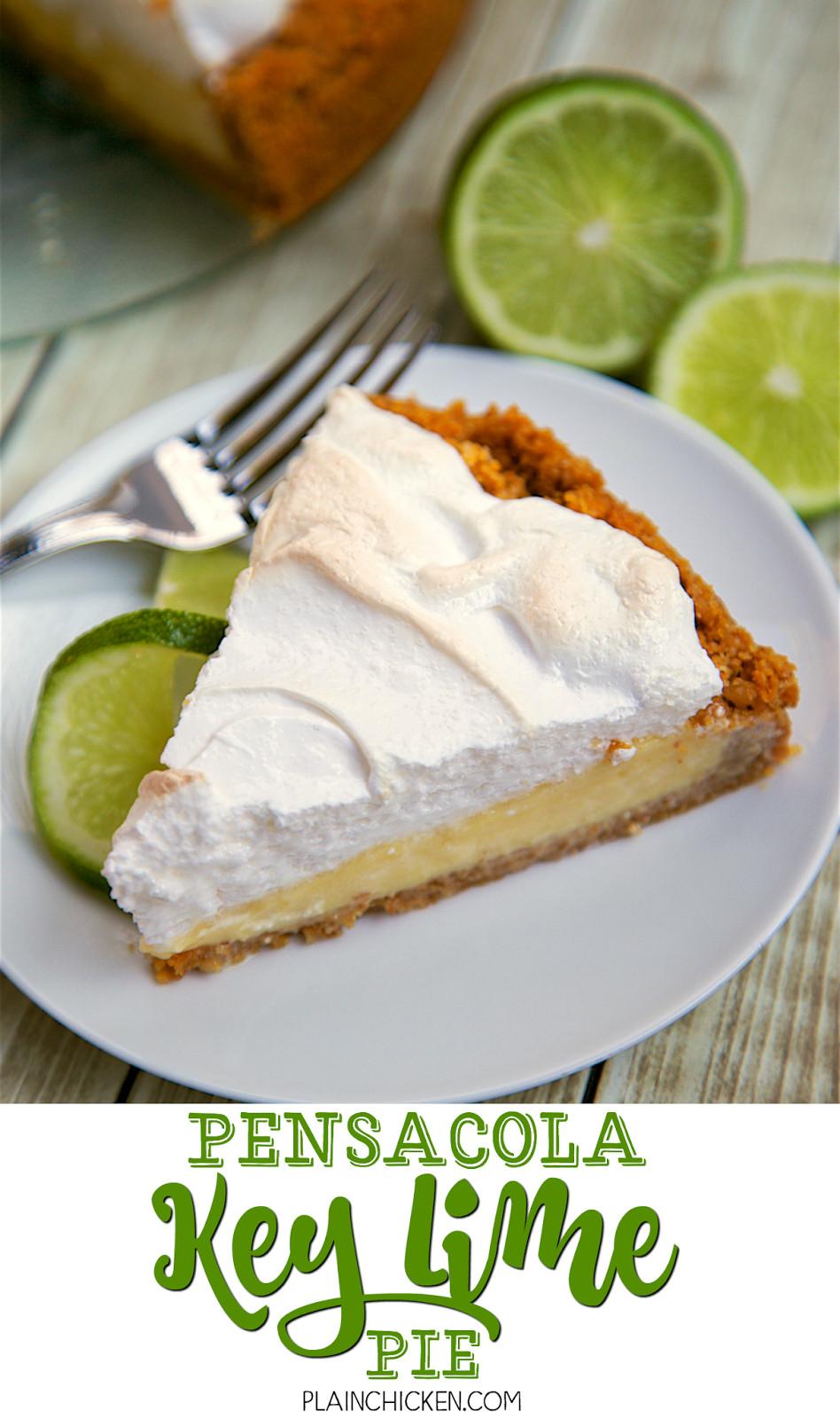 Key Lime Pie Recipe  Pensacola Key Lime Pie