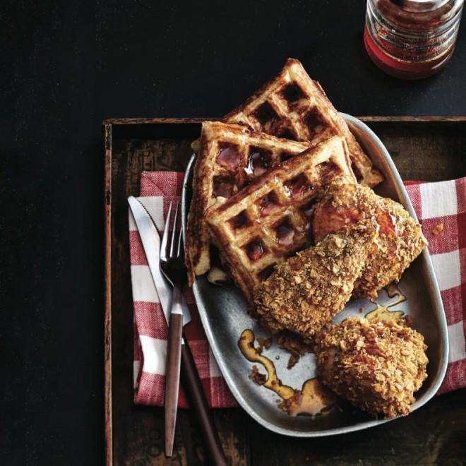 Kfc Chicken And Waffles  Three new ways to use a waffle iron Chatelaine