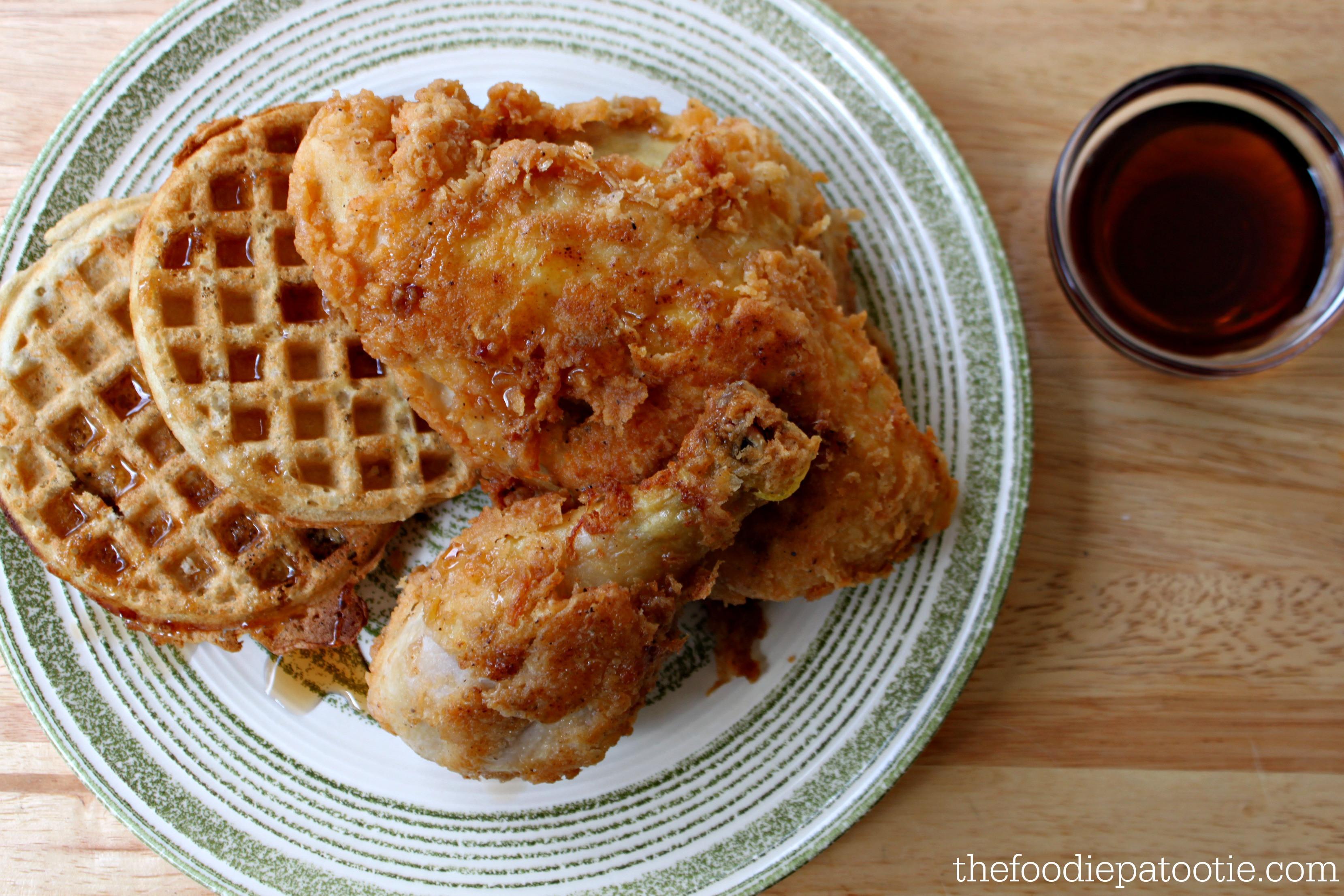Kfc Chicken And Waffles  National Waffle Day