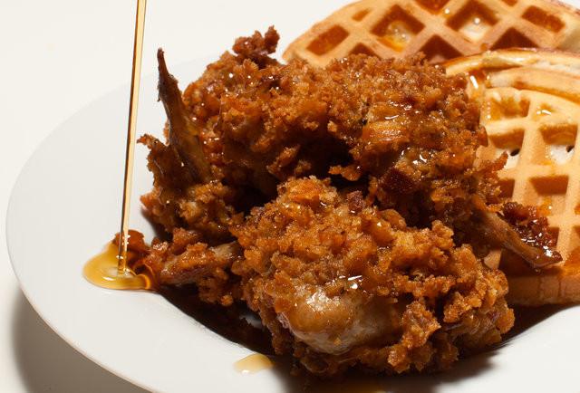 Kfc Chicken And Waffles  Fried Chicken and Waffles Recipe Thrillist Recipes