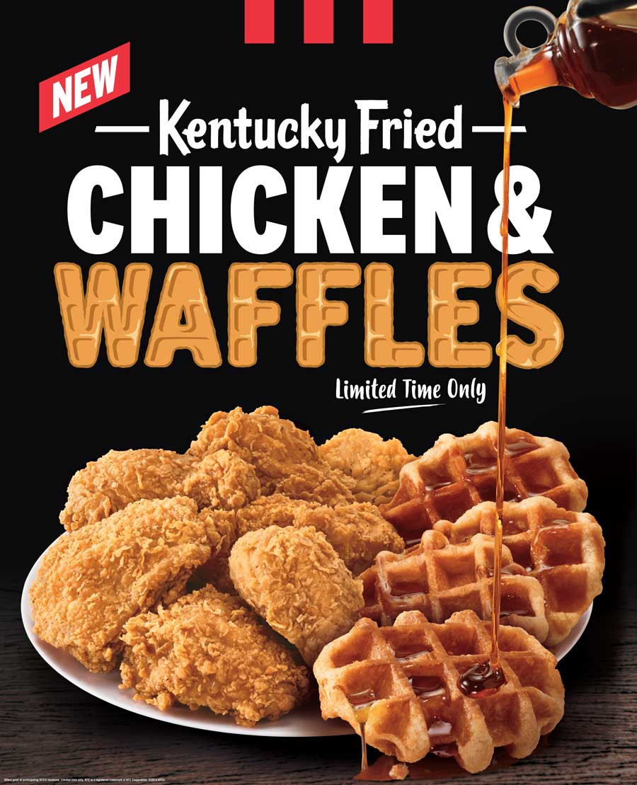 Kfc Chicken And Waffles  KFC Is Testing Fried Chicken And Waffles In North Carolina