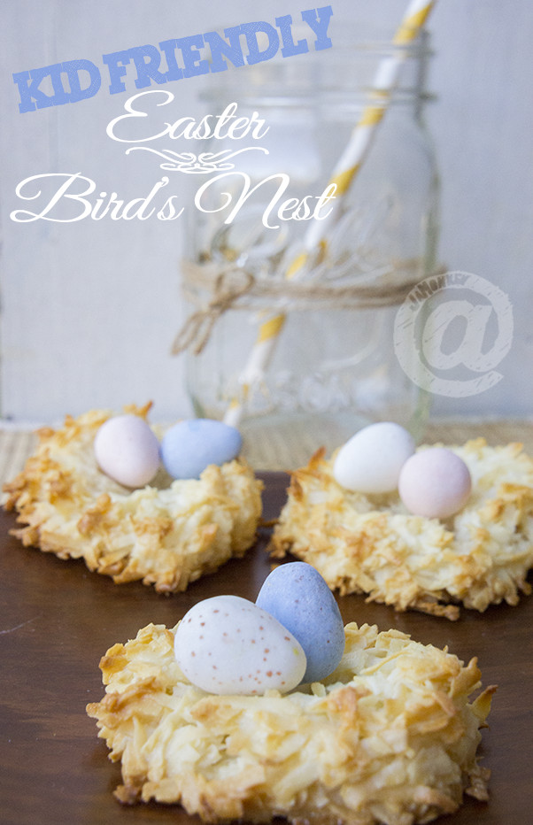 Kid Dessert Recipe  Easy Easter Bird s Nest Dessert Kid Friendly Recipe