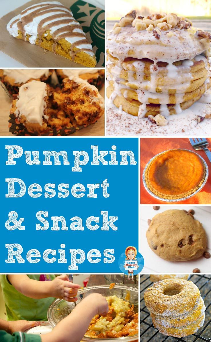 Kid Dessert Recipe  Don t miss these delicious kid friendly pumpkin dessert