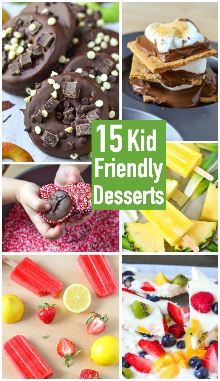 Kid Friendly Desserts  15 Kid Friendly Desserts Courtney s Sweets
