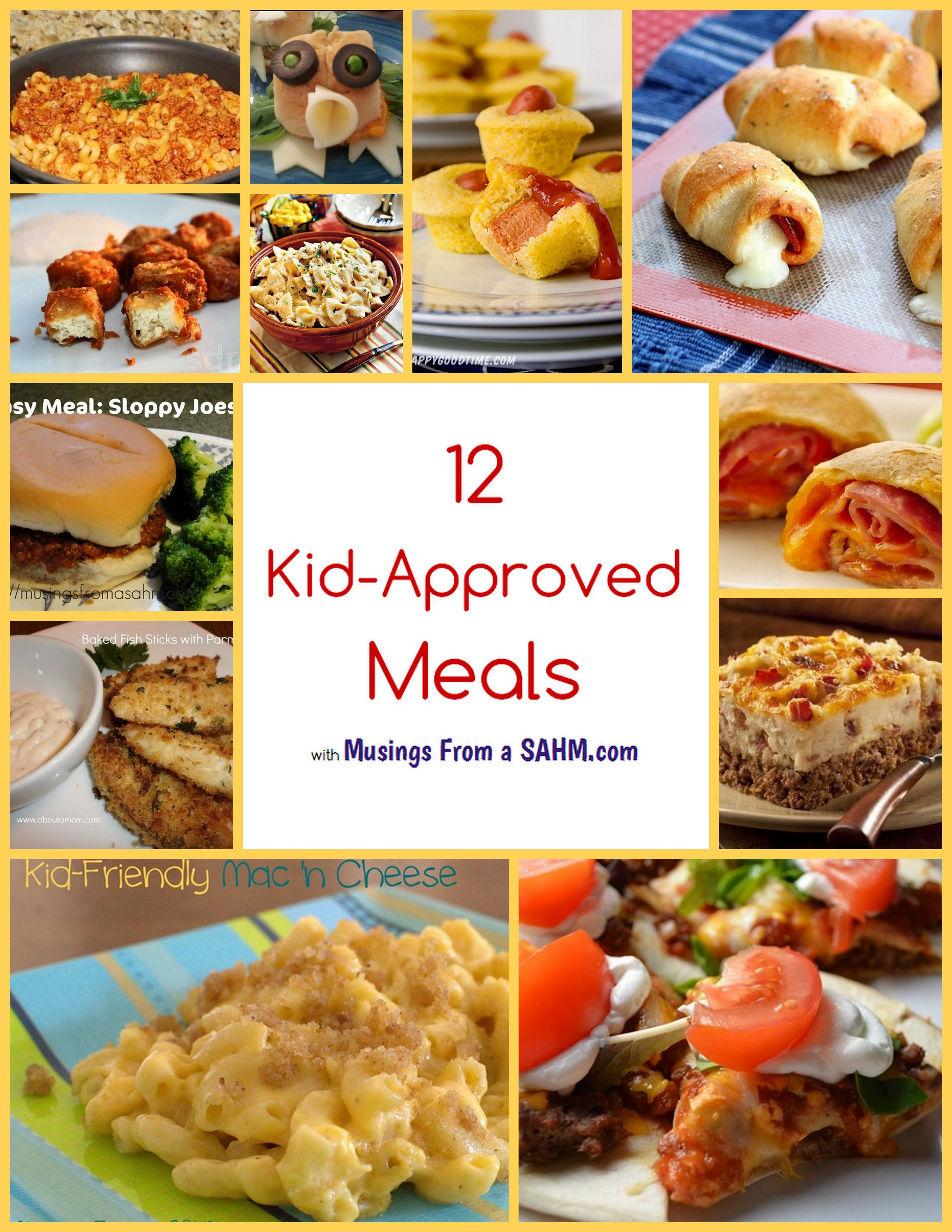 Kids Dinner Receipes  12 Kid Approved Meals Living Well Mom