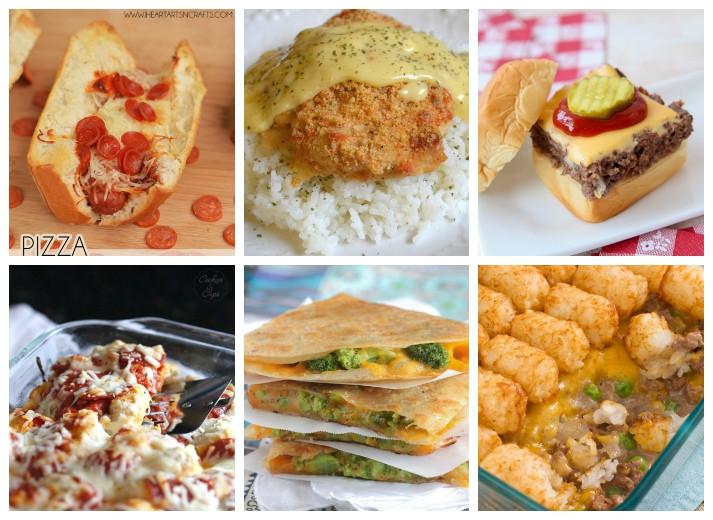 Kids Dinner Receipes  20 Easy Dinner Recipes That Kids Love I Heart Arts n Crafts
