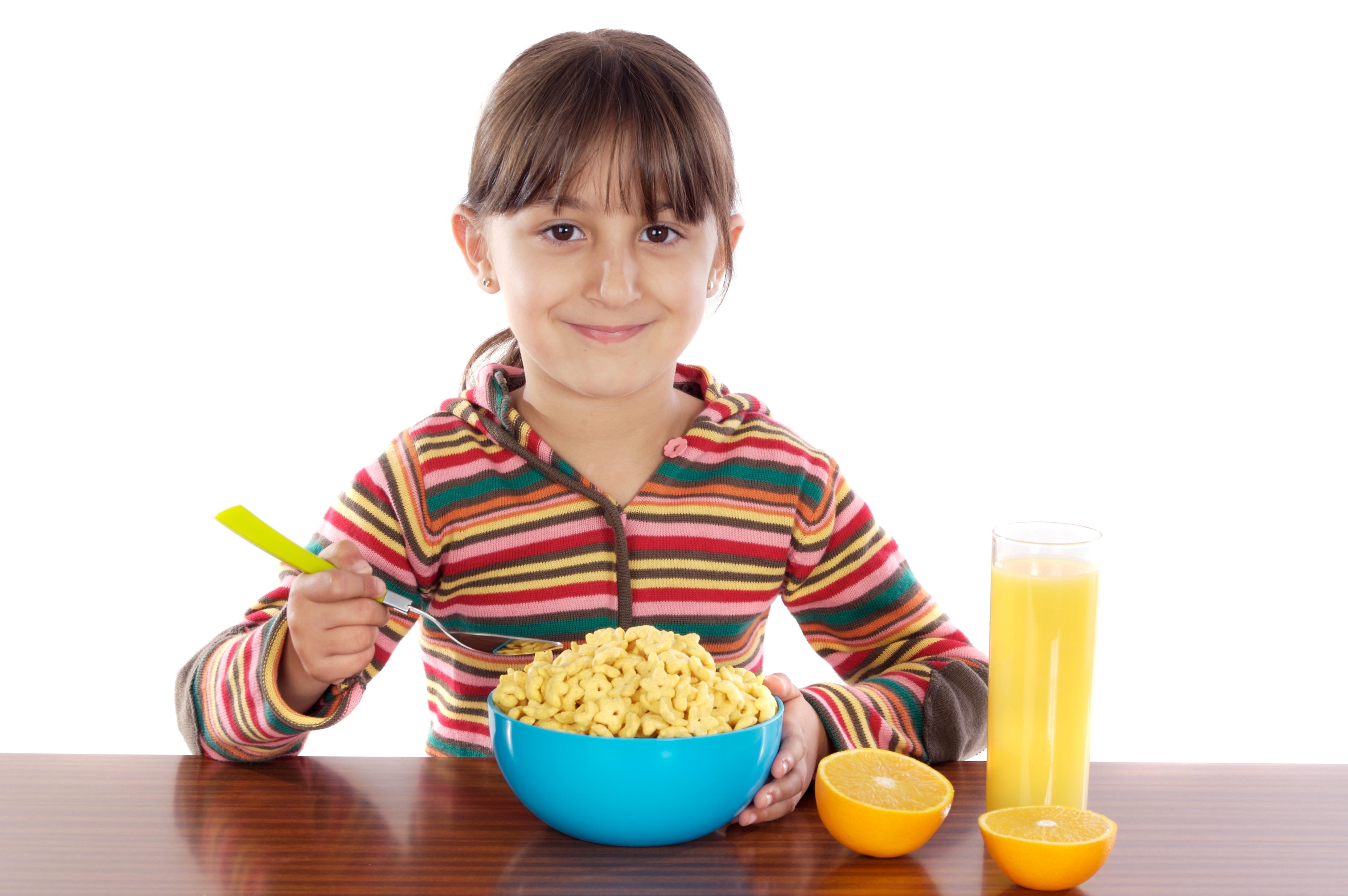 Kids Eating Breakfast  Something to Chew
