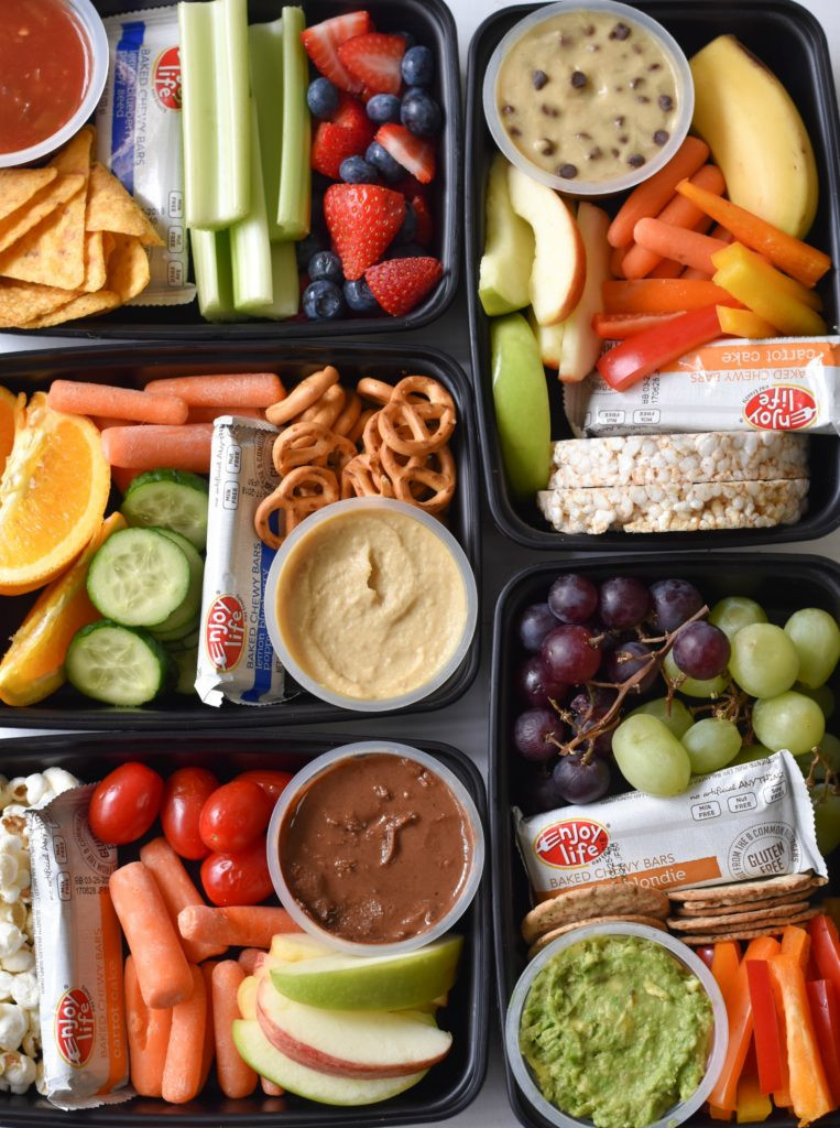 Kids Healthy Snacks  Kids Snack Bento Boxes Fork and Beans
