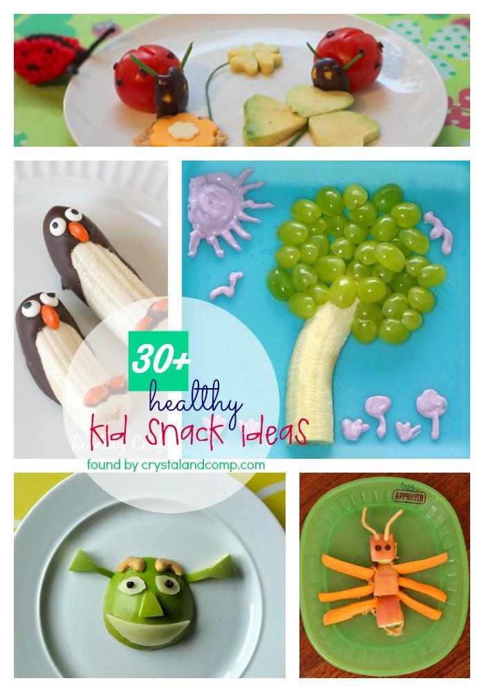Kids Healthy Snacks  kids snack ideas