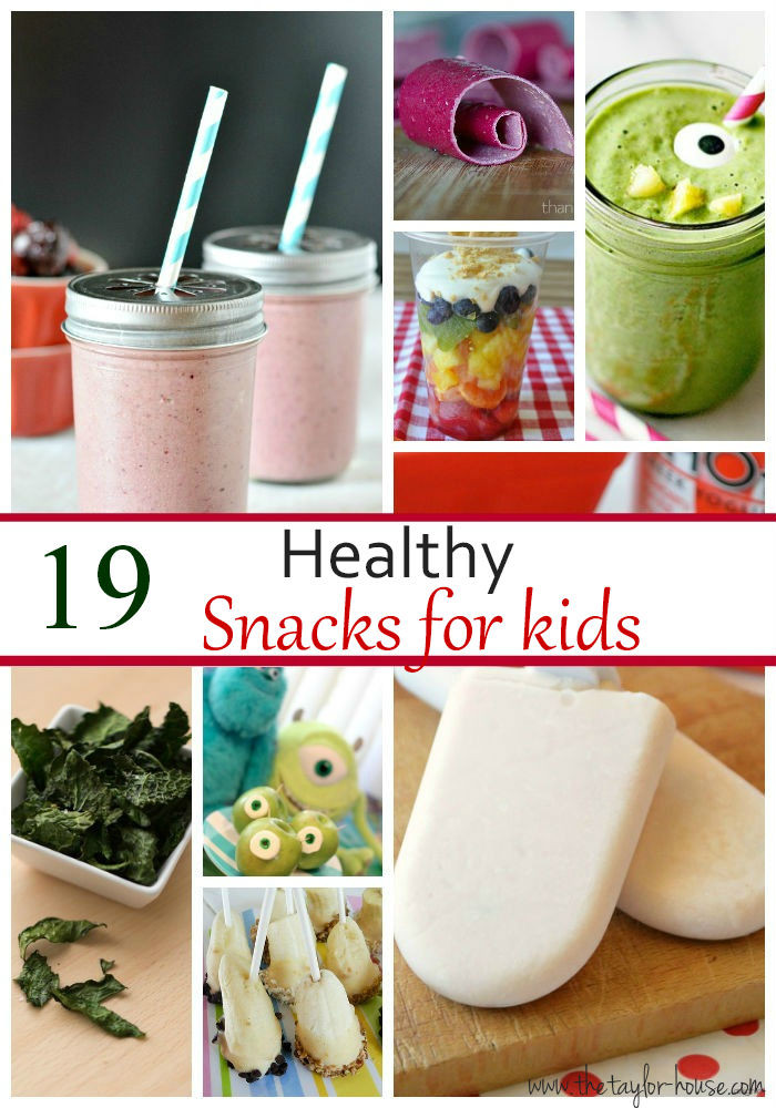 Kids Healthy Snacks  19 Kids Healthy Snack Ideas The Taylor House