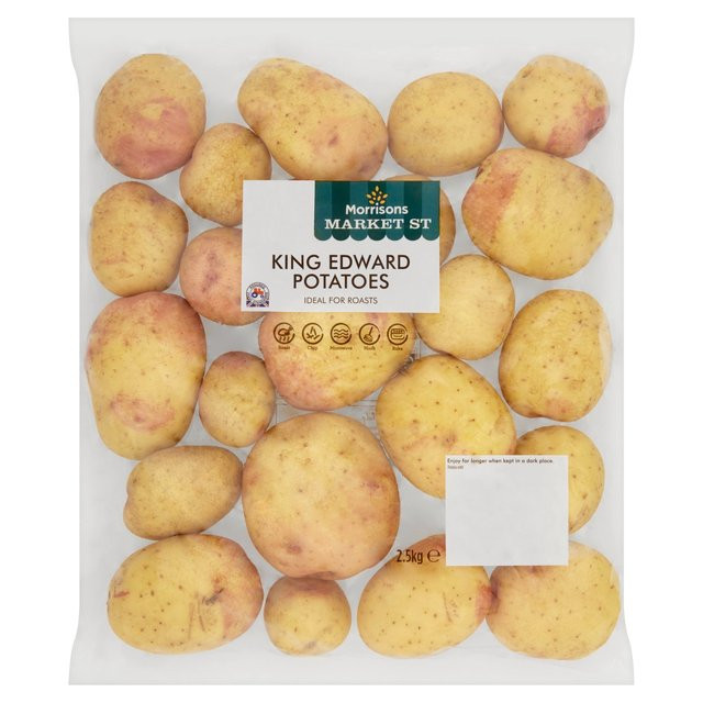 King Edward Potato  Morrisons Morrisons King Edward Potatoes 2 5kg Product