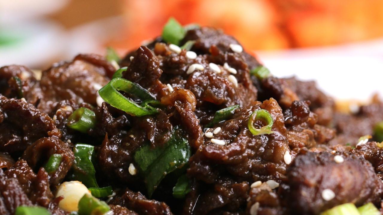 Korean Bbq Recipes  Korean BBQ Style Beef Bulgogi
