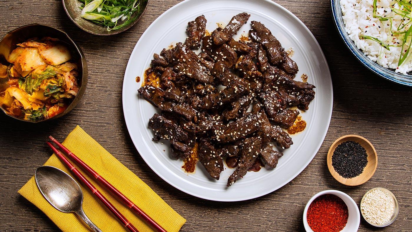 Korean Bbq Recipes  Recipe Bulgogi Korean BBQ Beef