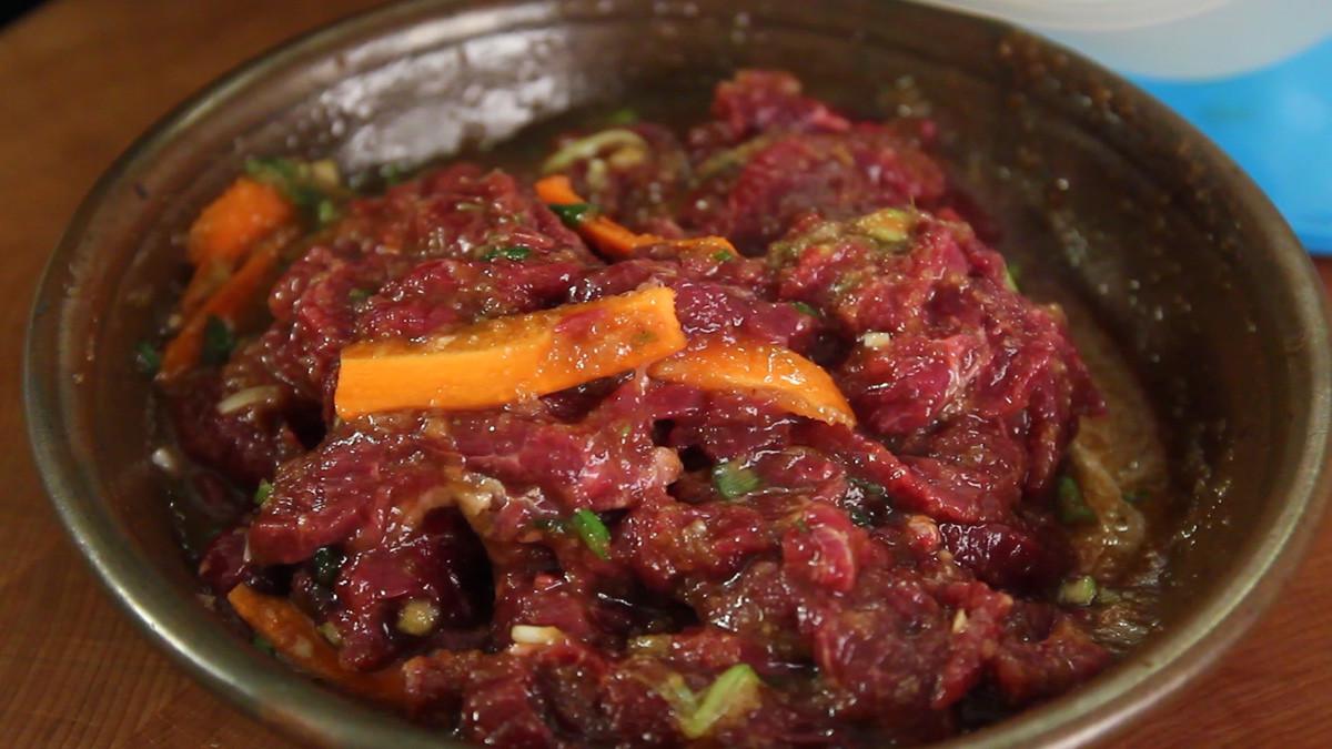 Korean Bbq Recipes  Korean beef BBQ Bulgogi recipe Maangchi