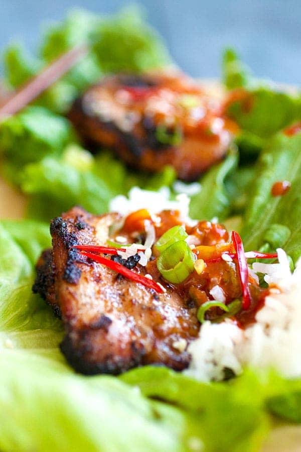 Korean Bbq Recipes  Korean BBQ Chicken