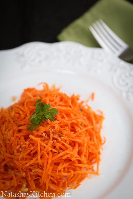 Korean Carrot Salad  Russian Carrot Salad with Coriander