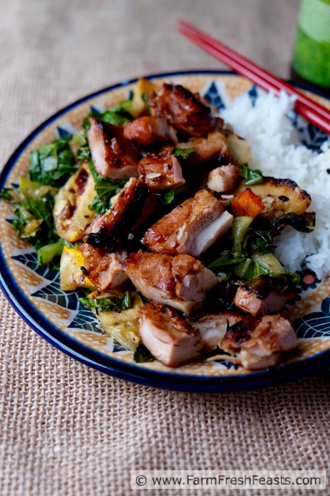 Korean Chicken Thighs  Farm Fresh Feasts Grilled Korean Chicken Thighs with