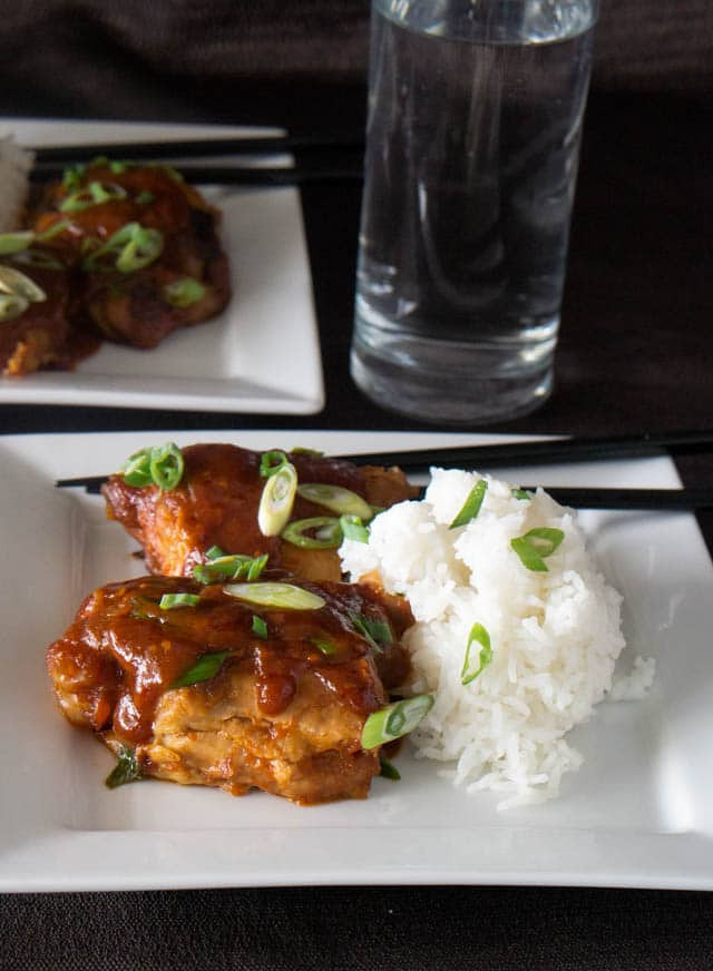 Korean Chicken Thighs  Pressure Cooker Korean Chicken Thighs