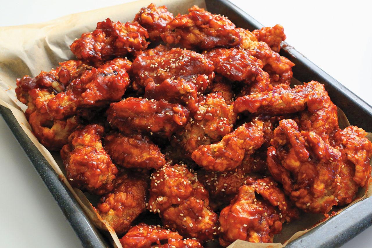Korean Fried Chicken  Sensation Publishes Her First Cookbook