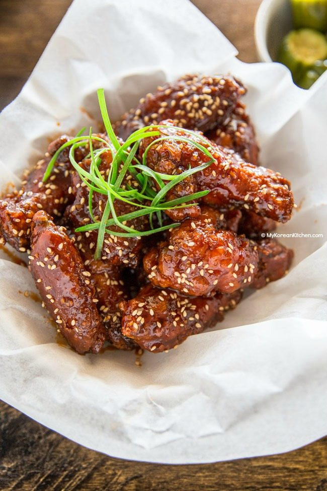 Korean Fried Chicken  Korean Fried Chicken My Korean Kitchen