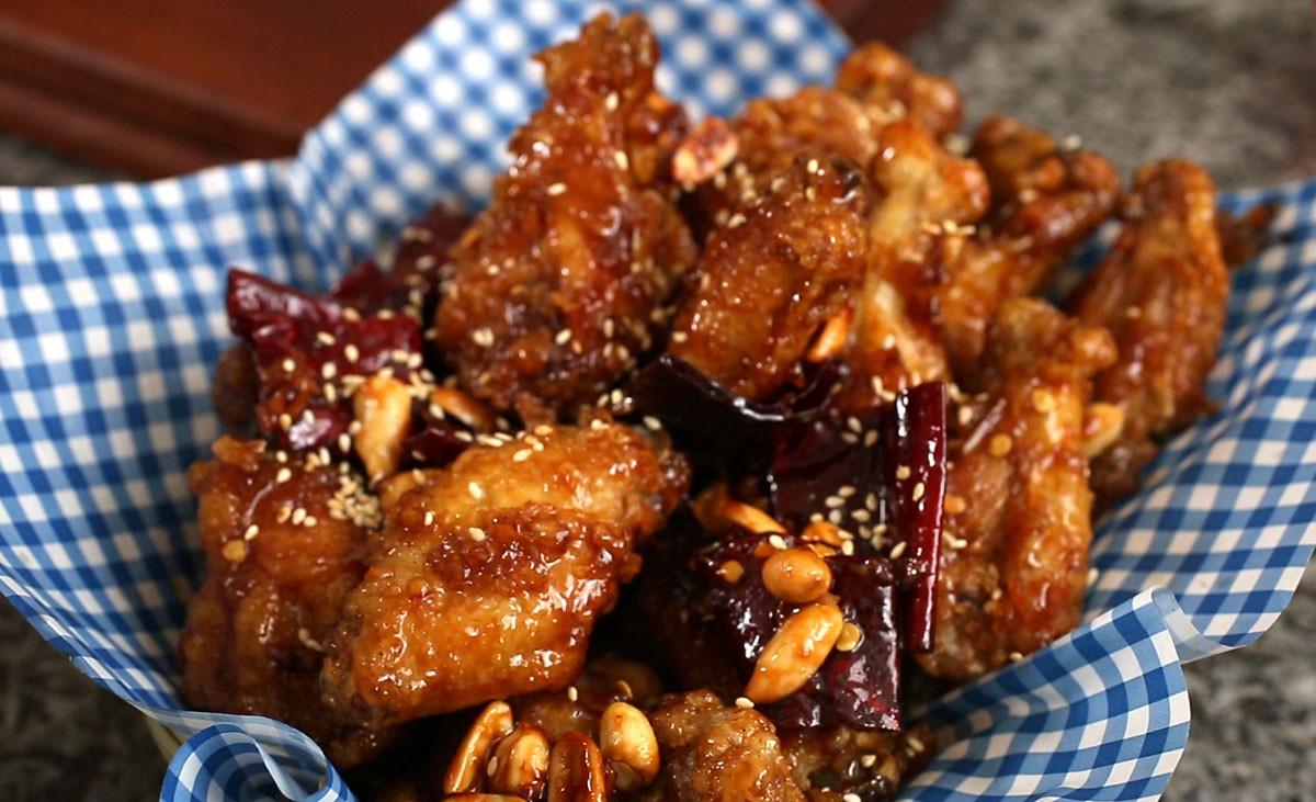 Korean Fried Chicken  Crispy crunchy Korean fried chicken Dakgangjeong recipe