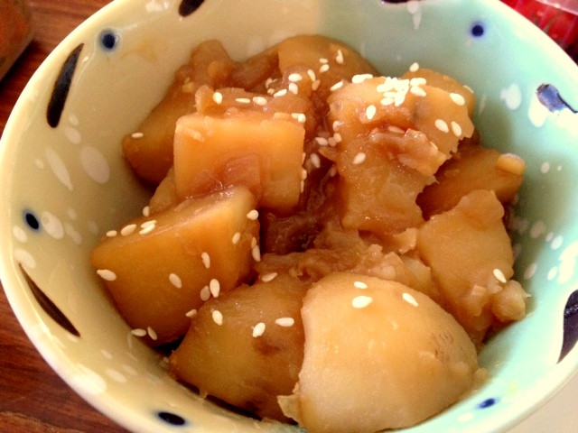 Korean Potato Side Dish  Gamja Jorim [ Korean Potato Side dish ]