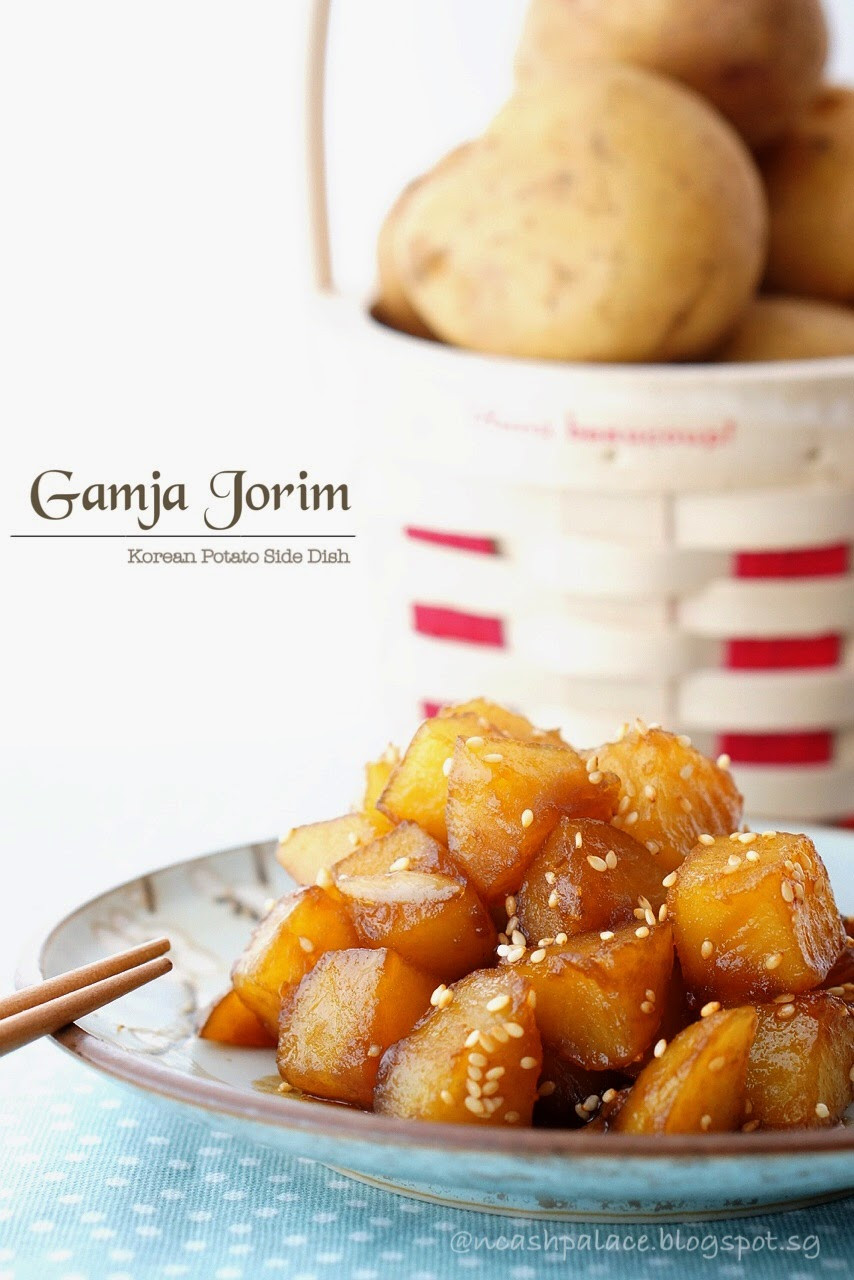 Korean Potato Side Dish  Gamja Jorim Korean Potato Side Dish Cash Palace
