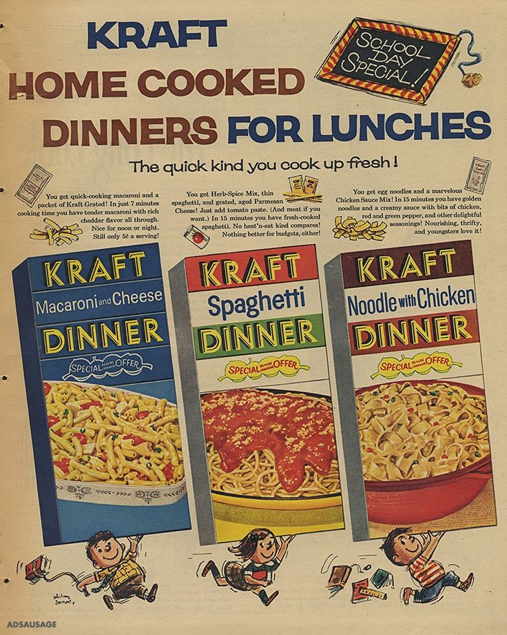 Kraft Chicken Noodle Dinner  883 best Open a can or box for dinner images on Pinterest