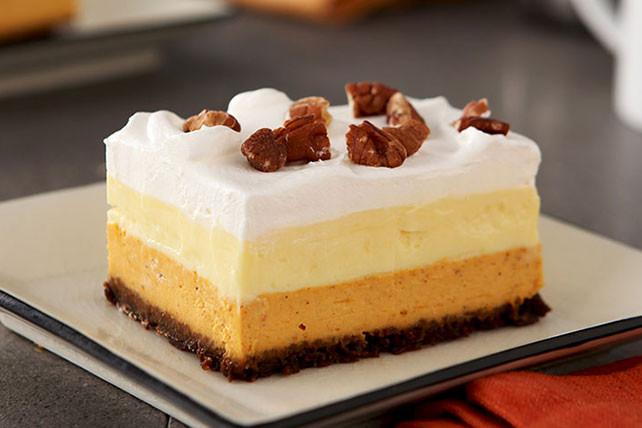 Kraft Recipes Desserts  pumpkin layered dessert