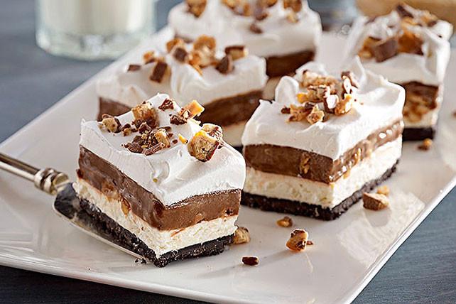 Kraft Recipes Desserts  Chocolate Candy Bar Dessert Kraft Recipes