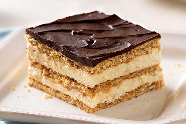 Kraft Recipes Desserts  Easy Peanut Butter & Chocolate Éclair Dessert Kraft Recipes