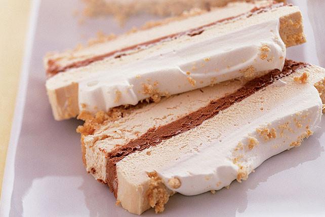 Kraft Recipes Desserts  Chocolate & Peanut Butter Ribbon Dessert Kraft Recipes