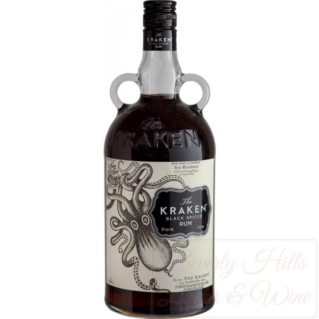 Kraken Rum Drinks  The Kraken Black Spiced Rum 1 75 Ltr