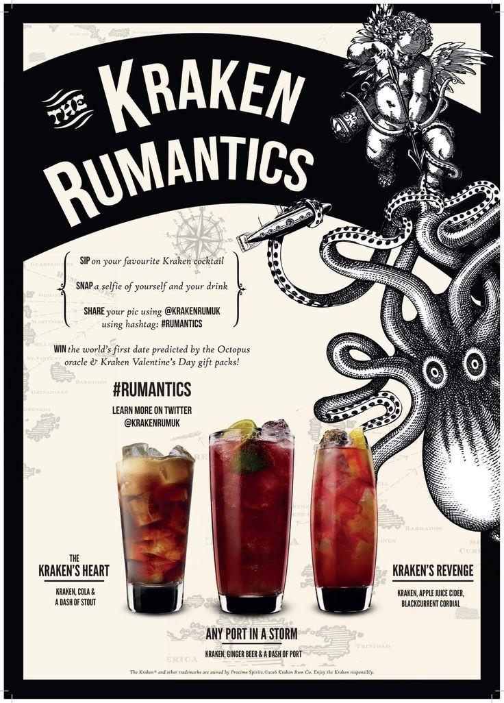 Kraken Rum Drinks  57 best Kraken Rum Cocktails images on Pinterest
