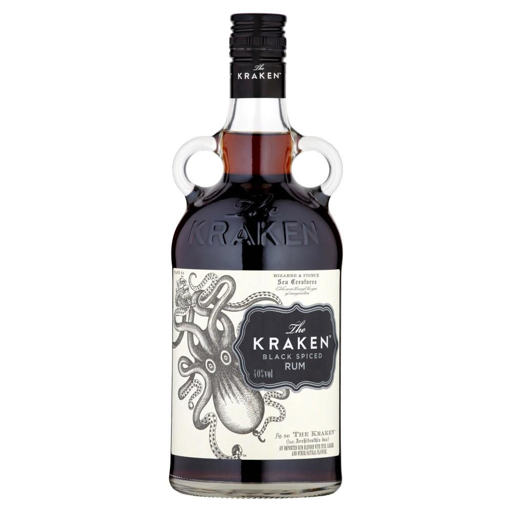 Kraken Rum Drinks  Kraken Black Spiced Rum 1Ltr DrinkSupermarket