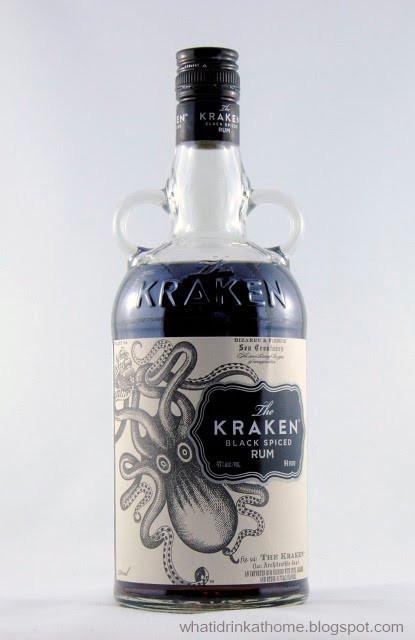 Kraken Rum Drinks  What I Drink At Home The Kraken Black Spiced Rum Review