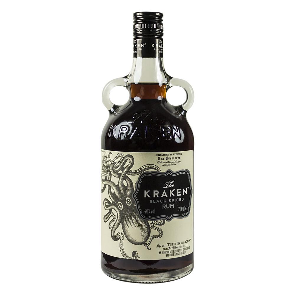 Kraken Rum Drinks  The Kraken Dark Spiced Rum 70cl Bottles