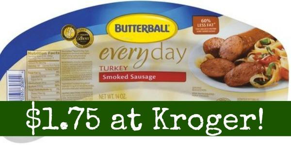 Kroger Thanksgiving Dinner 2017  Butterball Turkey Dinner Sausage ly $1 75