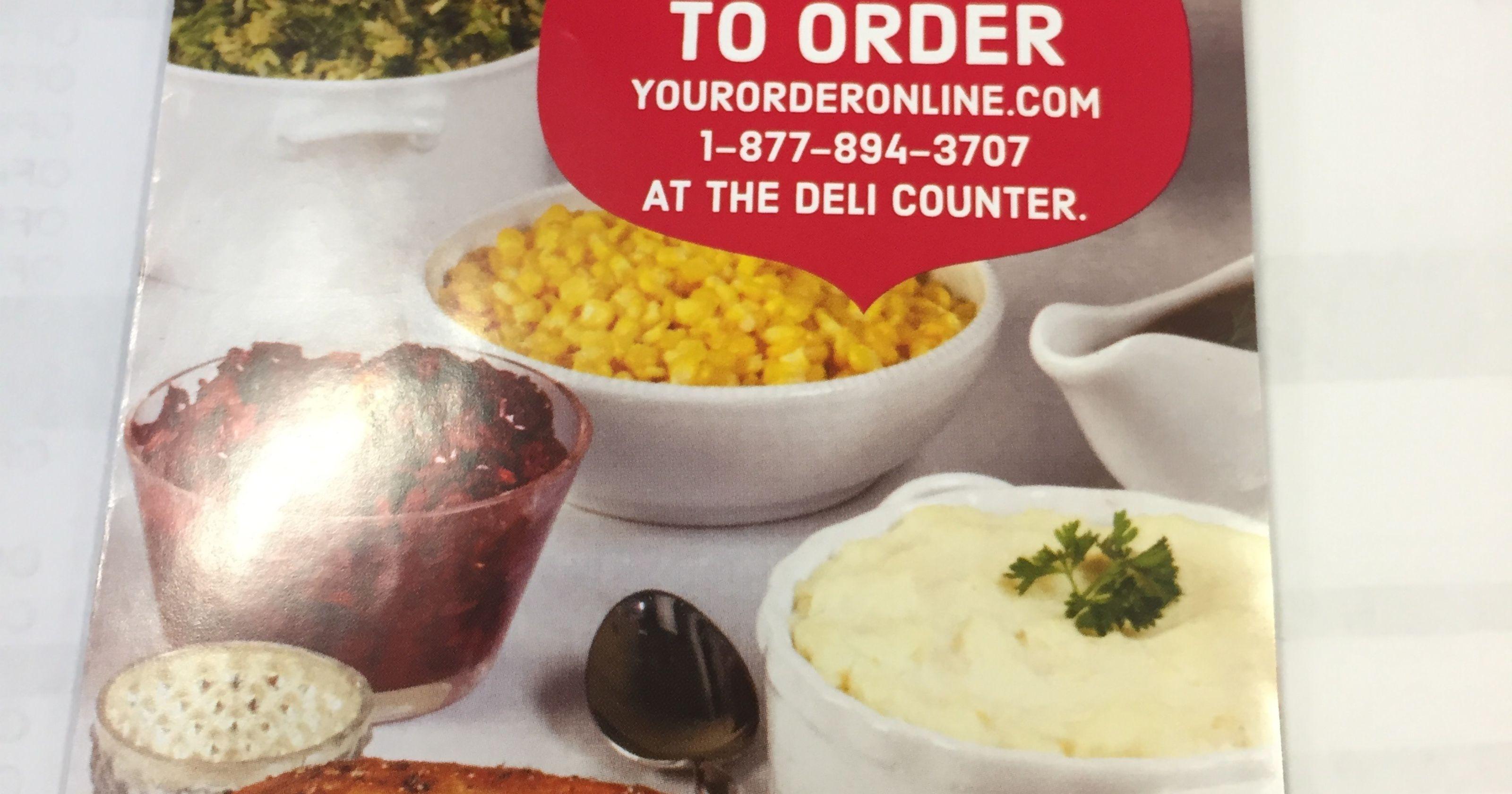 Kroger Thanksgiving Dinner 2017  order thanksgiving dinner kroger