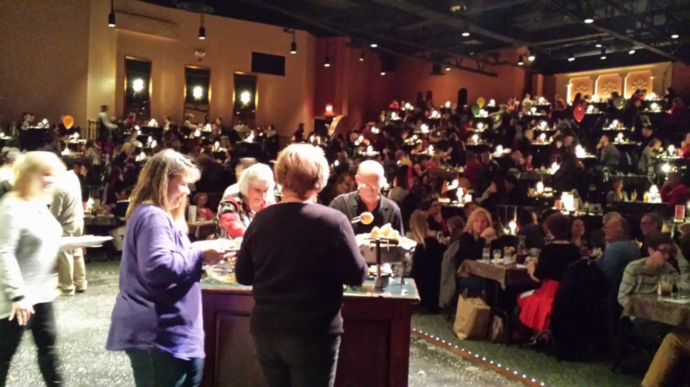 """La Comedia Dinner Theatre  View from the """"stage"""" Yelp"""