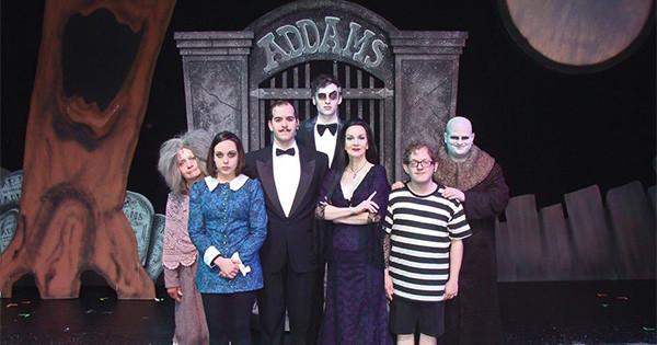 La Comedia Dinner Theatre  The Addams Family at La edia