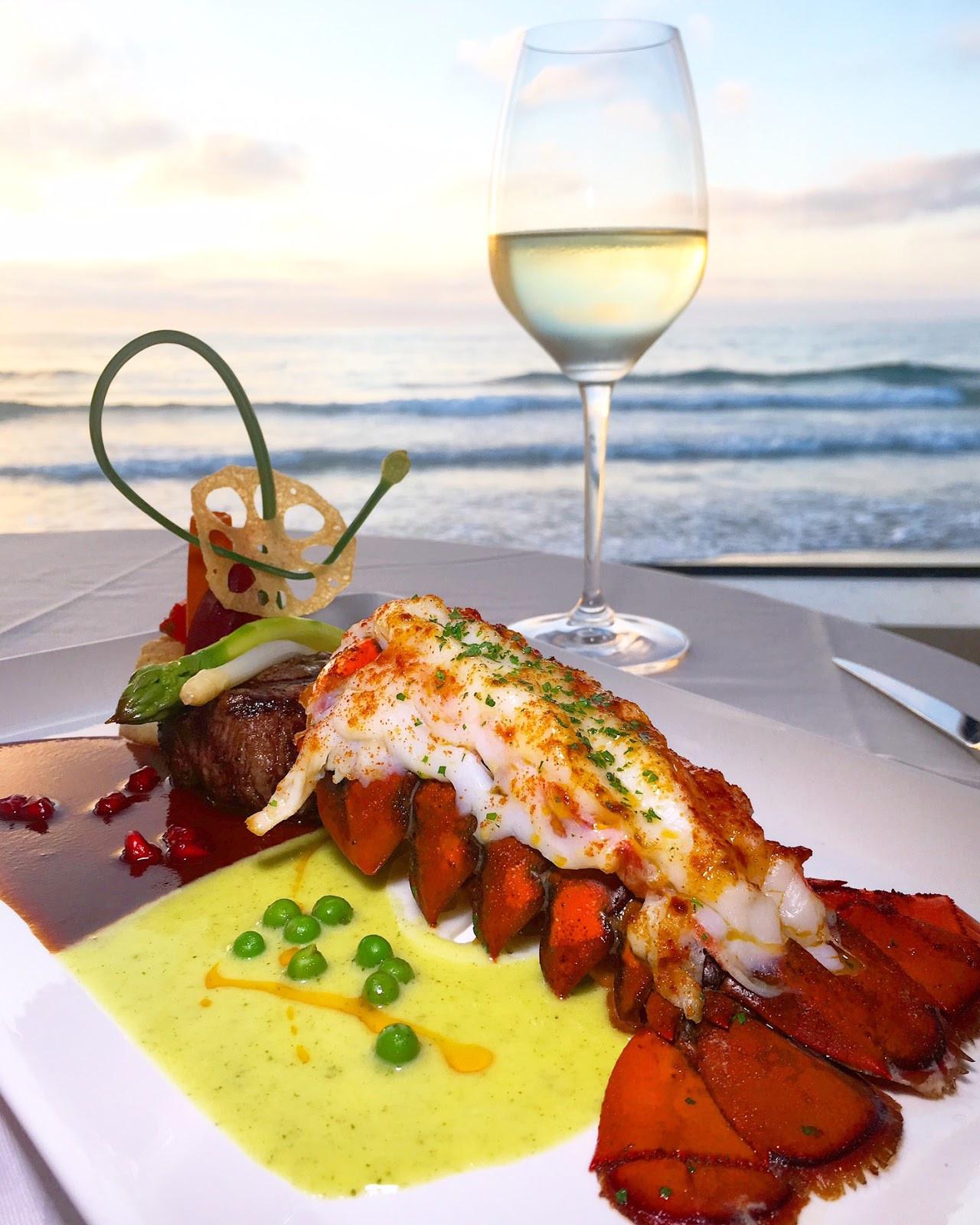 La Jolla Dinner  SanDiegoVille La Jolla s The Marine Room fers Spring