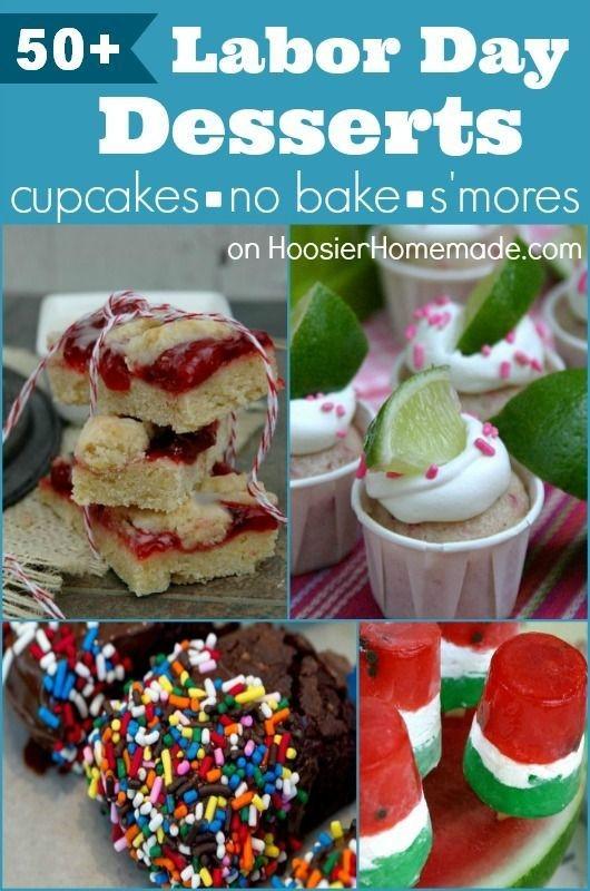Labor Day Desserts  50 Labor Day Desserts Cupcakes Desserts No Bake & S